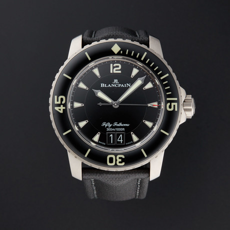 Blancpain Fifty Fathoms Grande Date Automatic // 5050-12B30-B52A // New