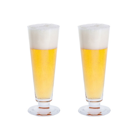 Dartington Crystal // Just The One Pilsner Glass // Set Of 2