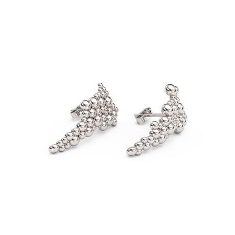Assemblage Earrings // Sterling Silver