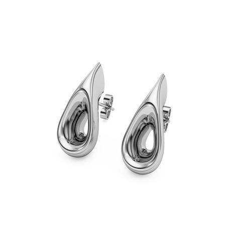 Sculptural Earrings // Sterling Silver