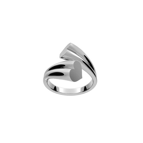 Love Ring // Sterling Silver (Size 5)