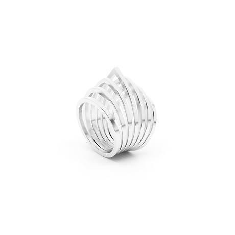 Duomo Ring // Sterling Silver (Size 5)