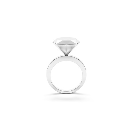 Promise Ring // Sterling Silver (Size 5)