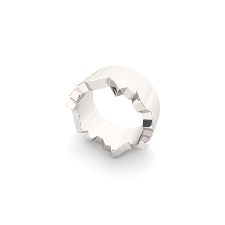 Cracked Ring // Sterling Silver (Size 5)