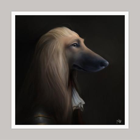 Limited Edition Renaissance Dog Giclee // Mylo (Small)