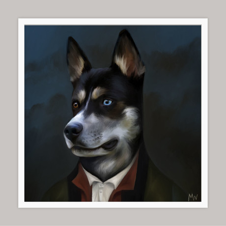 Limited Edition Renaissance Dog Giclee // Phil (Small)
