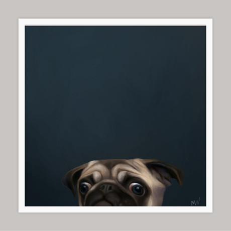 Limited Edition Renaissance Dog Giclee // Bob (Small)