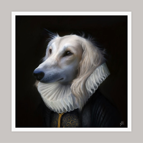Limited Edition Renaissance Dog Giclee // Prince (Small)