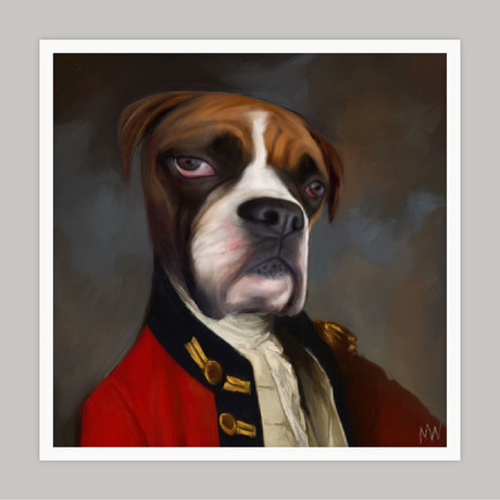 Limited Edition Renaissance Dog Giclee // Charlie (Small)