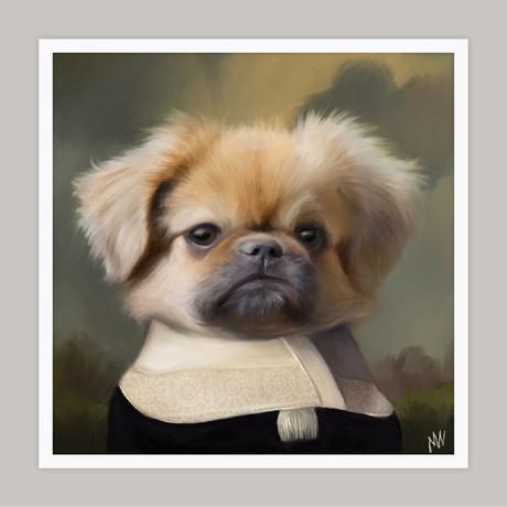 Limited Edition Renaissance Dog Giclee // Nacho (Small)