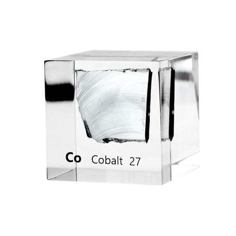 Lucite Cube // Cobalt