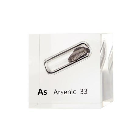 Lucite Cube // Arsenic