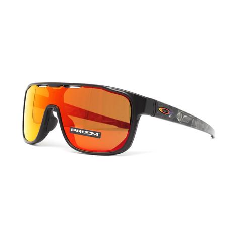 Men's Crossrange Shield (A) OO9390 Sunglasses // Matte Black Prizmatic