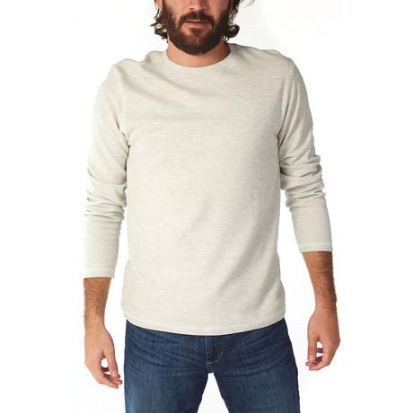 Ricky Ottoman Long Sleeve T-Shirt // Oatmeal Heather (S)