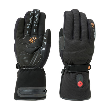 Heated Regular Waterproof Gloves // Black (X-Small)