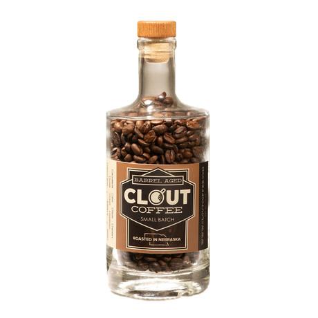 Bourbon Barrel Coffee Gift Bottle // 10 oz (Dark Roast)