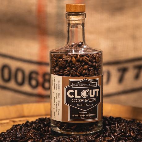 Rye Barrel Coffee Gift Bottle // 10 oz // Dark Roast