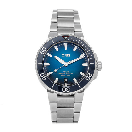 Oris Aquis Clean Ocean Automatic // 01 733 7732 4185-SET // Pre-Owned