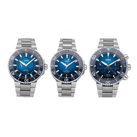 Oris Clean Ocean Trilogy Box Set // Limited Edition // Pre-Owned
