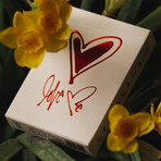 Love Me Playing Cards // Set of 2