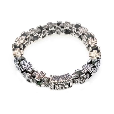 Dell Arte // Hard Rock Bracelet // Silver