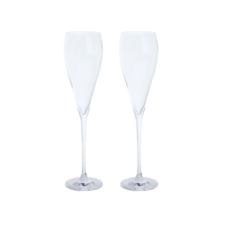 Dartington Crystal // Just The One Prosecco Glass // Set Of 2