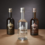 Villa One Tequila Set of 3 // Etched Signatures // 750 ml Each