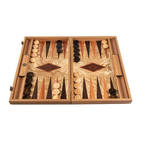 Backgammon Set // Olive Tree Root