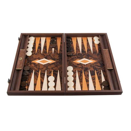 Backgammon Set // California Walnut Burl