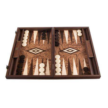 Backgammon Set // Walnut Tree Root