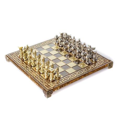 Spartan Warriors Chess Set