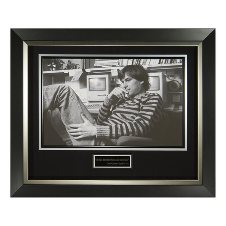 Steve Jobs Fine Art Photo // Unsigned