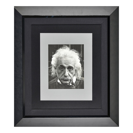 Albert Einstein Portrait // Unsigned