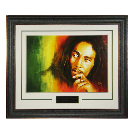 Bob Marley // Engraved Signature Series