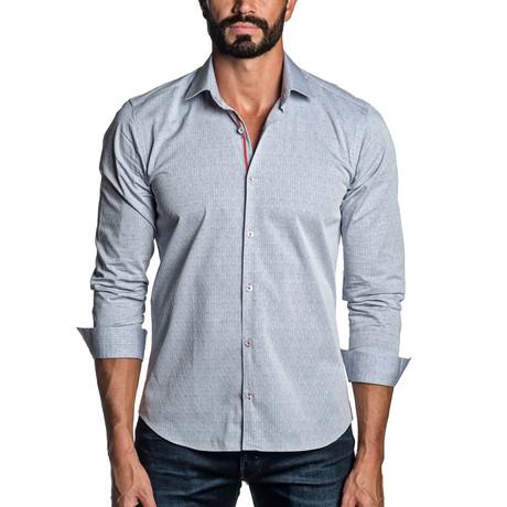 Long Sleeve Button-Up Shirt // Light Blue (S)