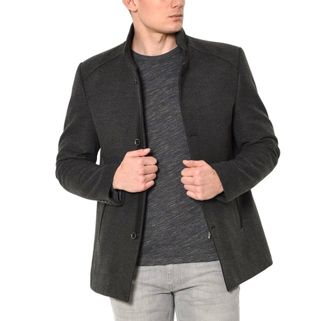 Athens Overcoat // Anthracite (Small)