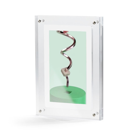 Moving Video Print // Spiraling (Small)