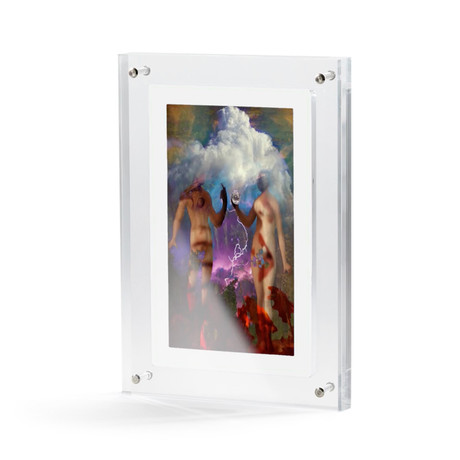 Moving Video Print // The Fall of Man (Small)