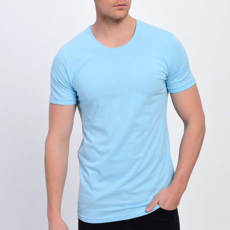 Jakob T-Shirt // Ice Blue (XS)