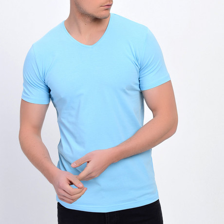 Gilly T-Shirt // Ice Blue (XS)
