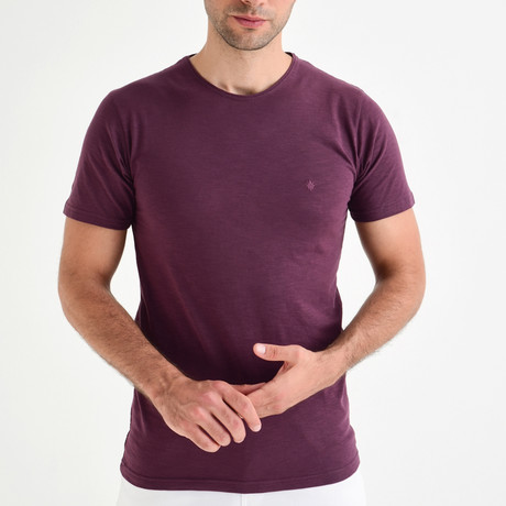 Basic T-Shirt // Plum (XS)