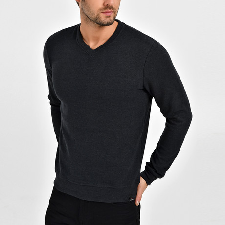 Thomas Sweatshirt // Anthracite (XS)