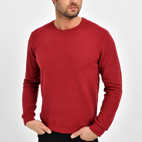 Alden Sweatshirt // Bordeux (XS)