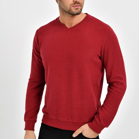 Gregory Sweatshirt // Bordeux (XS)