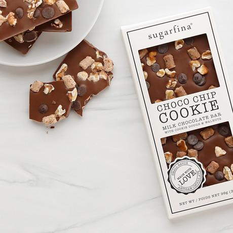 Chocolate Chip Cookie Chocolate Bar // 3.5 oz // Sugarfina
