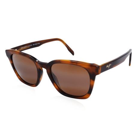 Maui Jim // Men's Shave Ice Polarized Classic Sunglasses // Tortoise + Bronze