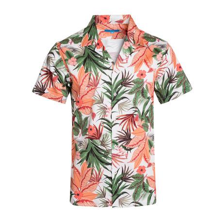 Botanics Cotton Short Sleeve Shirt // White (S)