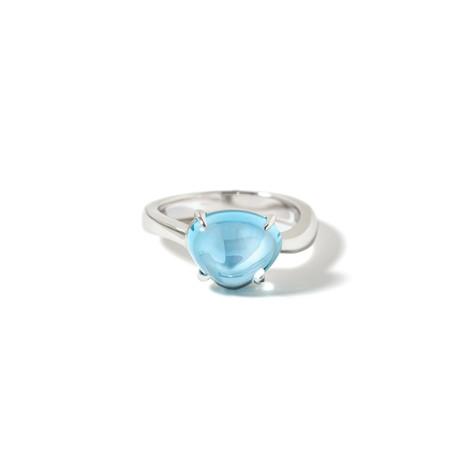 18k White Gold Sassi Ring // Ring Size: 6 // New