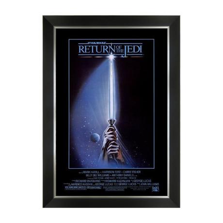 Star Wars Ep VI Return Of The Jedi // Original Release Poster // Framed Art Print