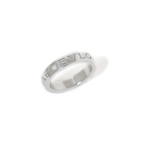 18k White Gold Diamond Ring // Ring Size: 5.5 // New (Ring Size: 6)